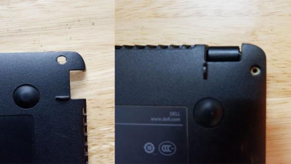 Hình ảnh trước và sau khi chế bản lề hỏng tại Hieucomputer